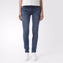 Calça Adidas Track Denim Superskinny - Estilo Jeans