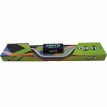 Guidão Fat Bar Alto Moto X Titanio + Adaptador - Cros/trilha