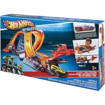 Pista Hot Wheels Jet Port Conjunto Base Aérea - Mattel