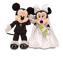 Disney Pelúcia Mickey E Minnie Noivos Original Disney Store