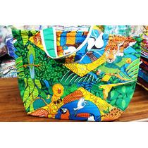 Bolsa De Praia E Dia Dia C/ Forração Interna E Ziper V.cores