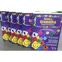 Manual De Gramática Língua Portuguesa Kit C/ 6 Unidades.