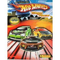 Álbum Figurinhas Hot Wheels Mega Race * Incompleto