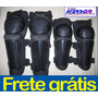 Ki Joelheira + Cotoveleira Bike Moto Bicicleta Frete Grátis