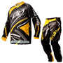 Kit Calça E Camisa Insane 3 Pro Tork Moto Cross Off Road