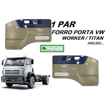 Par Forro Porta Caminhão Vw Worker Titan 2000...