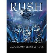 Dvd Rush - Clockwork Angels Tour ( 2 Dvd
