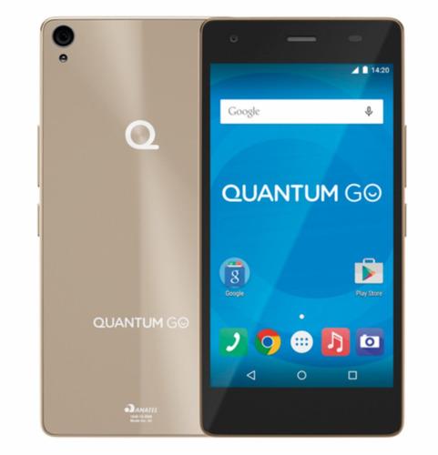 Celular Smartphone Quantum Go 3g 16gb - Dourado - Octacore