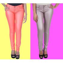 Calça Jeans Feminina Skinny Resinada Sawary 20% Desconto