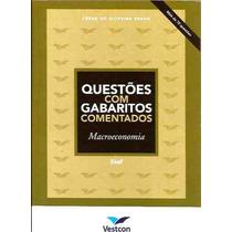 Livro Questões Com Gabaritos Comentados Macroeconomia Cesar