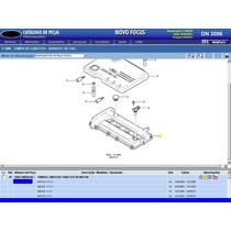 Tampa De Válvulas Com Junta Do Motor Duratec 2.0 Focus 08a13