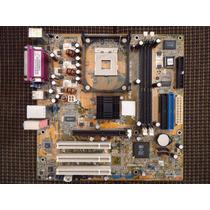 Placa Mãe Asus P4 S800-mx Se Socket 478 Com Defeito