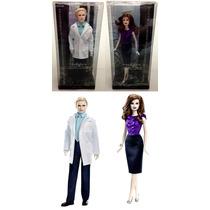 Kit Barbie Collector Original Crepúsculo : Carlisle + Esme