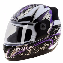 Capacete Evolution 3g For Girls Pro Tork Feminino Lilas 58