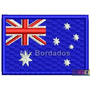 Bordado Termocolante - Bandeira Países - Austrália 7x4,5cm