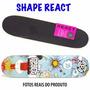 Shape Skate Profissional React Com Lixa Barato