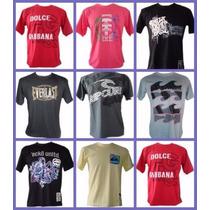 Kit 20 Camisetas Camisas De Marca Pronta Entrega Atacado Top