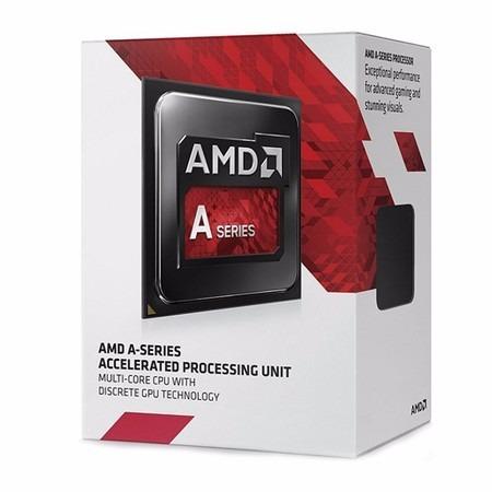 Processador Amd Radeon A10 7800, Cache 4mb, 3.9ghz Max Turbo