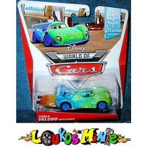 Disney Cars 2 Carla Veloso With Flames Lacrado Orig. Mattel
