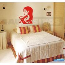 Adesivo De Parede Decorativo Mulher Ideal Salão De Beleza