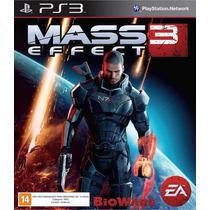 Mass Effect 3 Ps3 Jogo Novo Original Lacrado Com Nota Fiscal