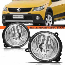 Farol Milha Saveiro Cross G5 G6 Crossfox Spacefox Gol Rally