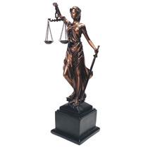 Estatua Da Justiça Com Pedestal Mod Jxw-410