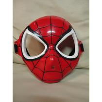 Brinquedo Mascara Homem Aranha Fantasia Marvel Super Heroi