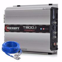 Módulo Amplificador Taramps T800.1 Compact 1 Canal 800wrms