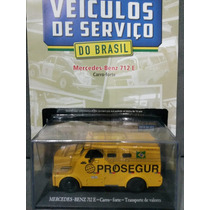 1/43 Ixo Mercedes Carro-forte Prosegur Veículos Serviço Br