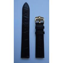 Rolex Daytona Pulseira Couro Submariner 20mm Preto Dourada
