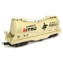 Vagão Tanque Cimento Itaú - Frateschi 2021 - Escala Ho