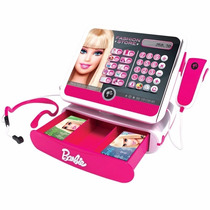 Caixa Registradora Da Barbie - Intek