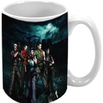 Caneca Resident Evil Ps3 Ps4 Xbox 360 Xbox One Ds 3ds Ps2