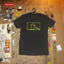 Camiseta Quiksilver Logo Cor Preto Importada Dos Eua