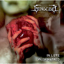 Lp Genocidio - In Love With Hatred (vinil Em Cor De Sangue)