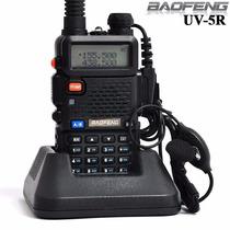 Radio Walkietalkie Ht Dual Band Uhf+vhf Baofeng Uv-5r +fone