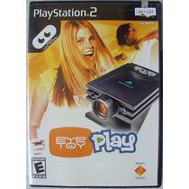 Eye Toy Play Jogo Game Playstation 2 Oportunidade Leilao!