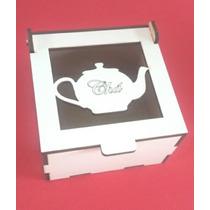 Lembrancinha Caixinha Mdf Branco Chá De Cozinha Kit 20 Unid
