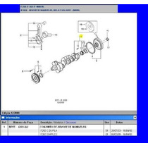 Virabrequim Std D Motor 4.2 Sprint Mwm F250 Silverado