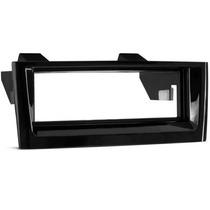 Moldura 1 Din Para Fiat Punto/linea Black Piano Até 2012