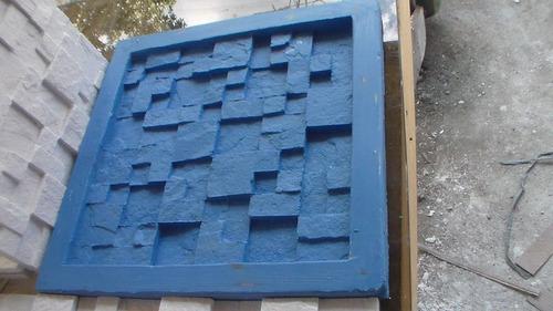 Forma Em Silicone Para Mosaico Em Gesso.29x29