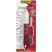 Loreal Double Extend Beauty Tubes Mascara - Rímel/black 570