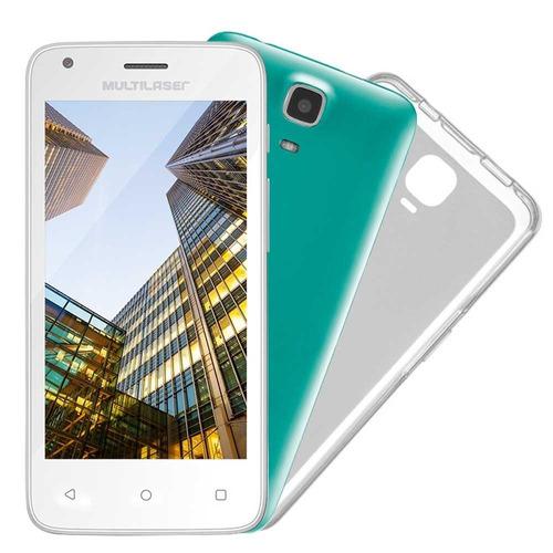 Smartphone Multilaser Ms45s Duos Branco Tela 4.5 5mp 8gb
