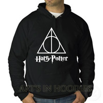 Blusa Harry Potter Moletom Canguru