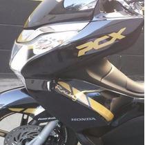 Adesivo Personalizado Tuning 3 Gp Moto Scooter Honda Pcx 150