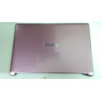 Philco Notebook 14h-r123lm Carcaça Tampa Lcd Rosa Usado