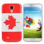 Case/capa Plastico Modelo Bandeira Canada Samsung Galaxy S4