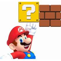 Adesivos Decorativos Super Mario Bros - Ganhe Brindes!