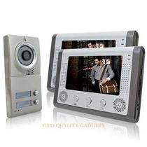 Porteiro Eletronico 2 Em 1 Interfone 7 Color Monitor Câmara